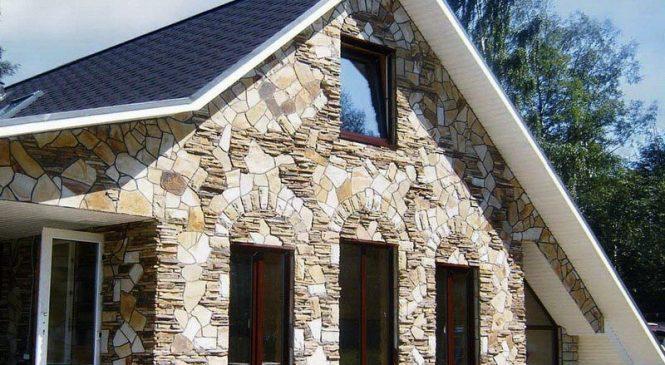 Облицовка фасадов зданий искусственными плитами