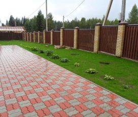 Тротуарная плитка для домашнего участка