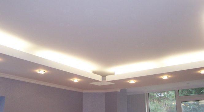 Подвесной потолок — просто и стильно