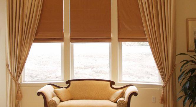 Современные виды штор на окна