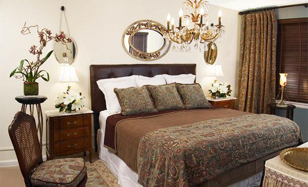 Коричневый цвет в интерьере спальни удачные цветовые сочетания