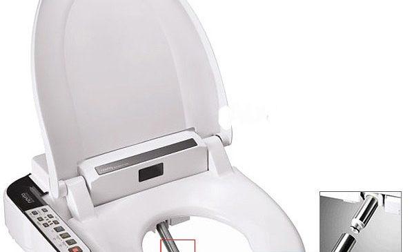 Что из себя представляет электронная крышка-биде для унитаза?