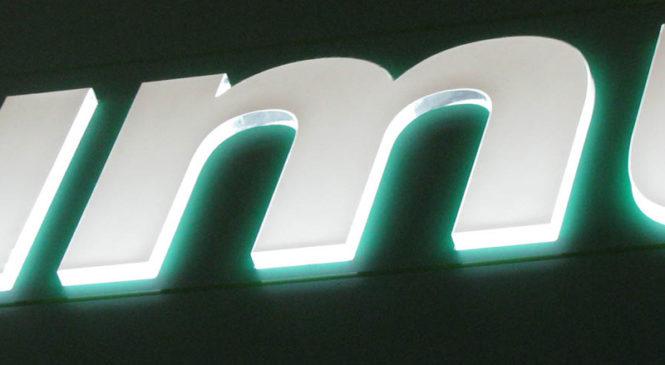 Логотип с подсветкой