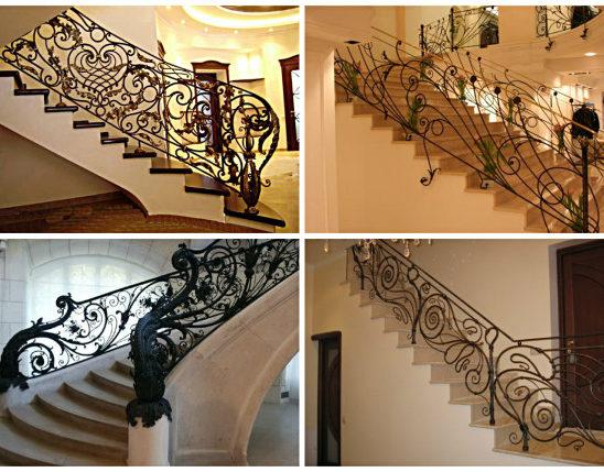 Особенности и преимущества кованых лестниц