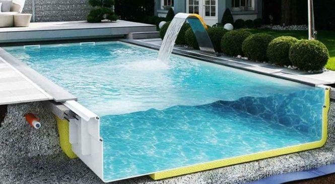 Изготовление композитных бассейнов