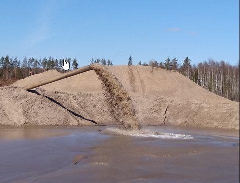 Сфера применения намывного песка