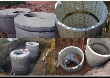 Септик из бетонных колец: плюсы