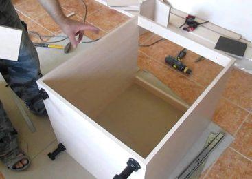 Пошаговая инструкция сборки комода